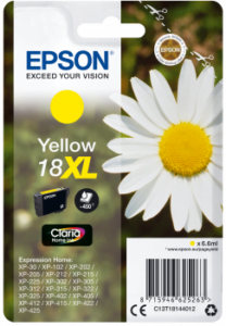 Epson 18 XL Geel
