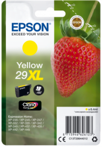 Epson 29 XL Geel