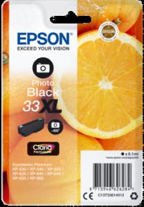 Epson 33 XL Foto Zwart
