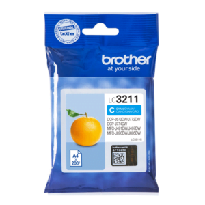 Brother LC3211 Cyaan