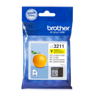 Brother LC3211 Geel