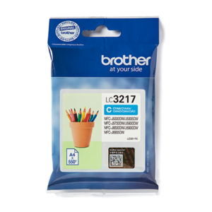 Brother LC3217 Cyaan