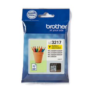 Brother LC3217 Geel