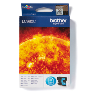 Brother LC980 Cyaan