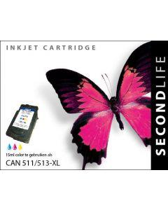 Second Life Canon 511/ 513 XL Kleur