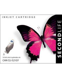 Second Life Canon CLI-521 Grijs