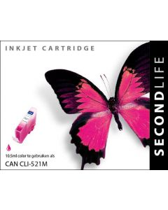 Second Life Canon CLI-521 Magenta