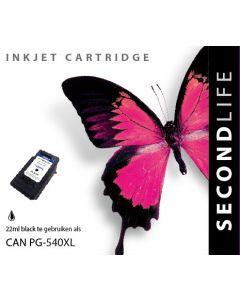 Second Life Canon PG-540 XL Zwart