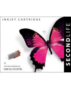 Second Life Canon CLI-551 Grijs