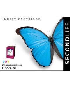 Second Life HP 300 XL Kleur