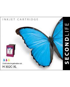 Second Life HP 302 XL Kleur