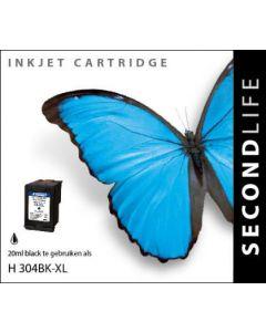 Second Life HP 304 XL Zwart