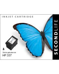 Second Life HP 337 XL Zwart