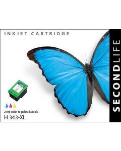 Second Life HP 343 XL Kleur