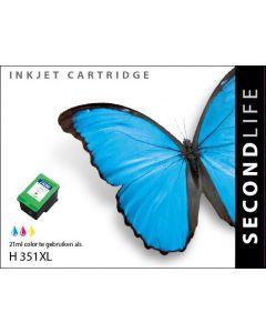 Second Life HP 351 XL Kleur
