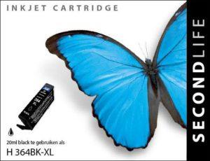 Second Life HP 364 XL Zwart