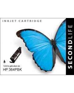 Second Life HP 364 XL Foto Zwart