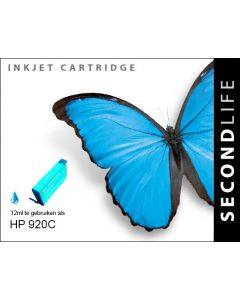 Second Life HP 920 XL Cyaan