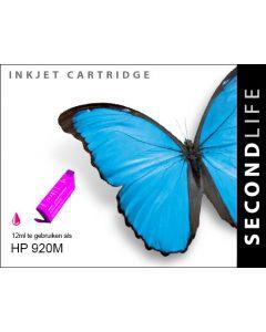 Second Life HP 920 XL Magenta
