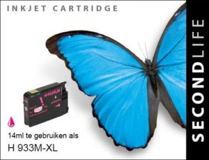 Second Life HP 933 XL Magenta