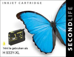 Second Life HP 933 XL Geel