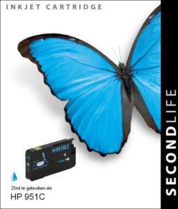 Second Life HP 951 XL Cyaan