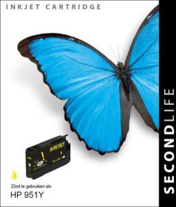 Second Life HP 951 XL Geel